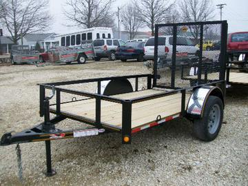New 2020 Heartland 5x8  With Gate