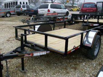 New 2020 Heartland 5 x 8 Tilt Bed Trailer