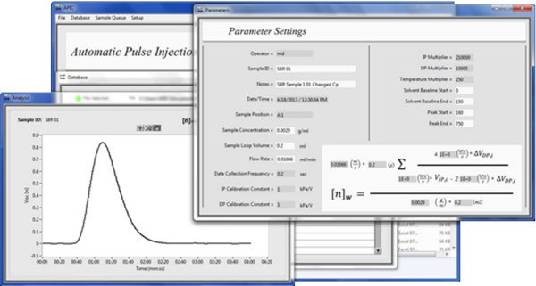 Advanced Polymer Monitoring Technologies: APIC Intrinsic Viscosity Software