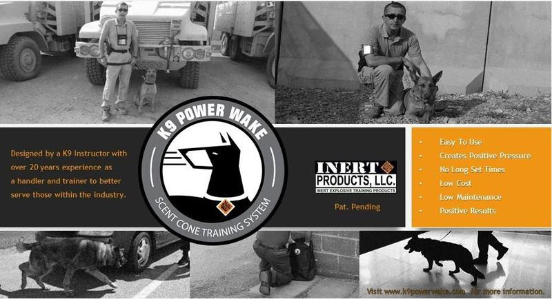 K9 Power Wake - Scent detection training tool