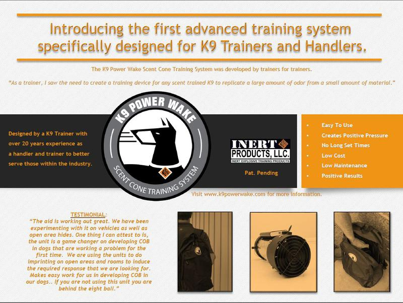 K9 Powerwake Training Tool