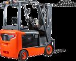Linde Model 1347 Electric Forklift