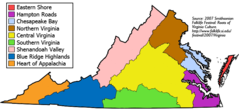 Besuchen Sie Virginia