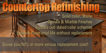 Countertop Refinishing Contractor Portland Vancouver