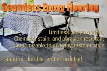 Seamless Epoxy Flooring Contractor Portland Vancouver