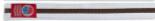 White Belt Brown Stripe