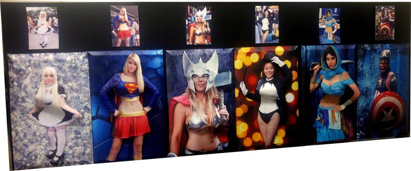 Turn your favorite Cosplay Photo into a 3D Poster