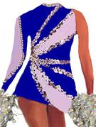 dance uniform dress sequin