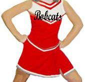FLYAWAY SKIRT CHEER UNIFORM