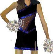 SEQUIN DANCE UNIFORM DRESS
