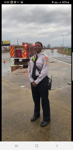Congratulations Firefighter Shunta Barbour!