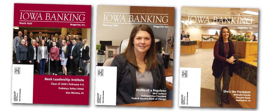 Iowa Banking Magazine Des Moines Iowa magazine covers