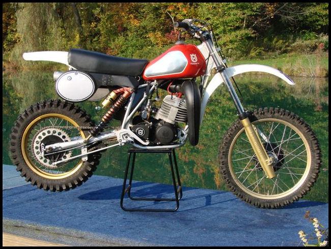 1982 Factory Works 250cc Husqvarna Motorcycle