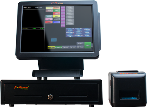 Touchscreen Terminals, POS Systems, Retail Solutions
