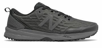 New Balance Men's NITREL v3 Trail Shoes Black with Grey