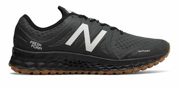 New Balance Men's Kaymin Trail Shoes Black with White The Official New Balance Outlet Store - Fast Shipping