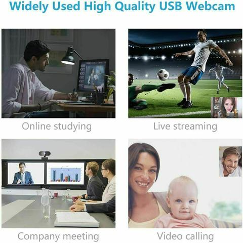 Webcam Full HD 1080P USB Web Camera Built-in Microphone PC Mac Computer Laptop ⭐️⭐️⭐️⭐️⭐️ ✅ US Seller ✅ Best Quality ✅ Fast Deliver Free $23.45