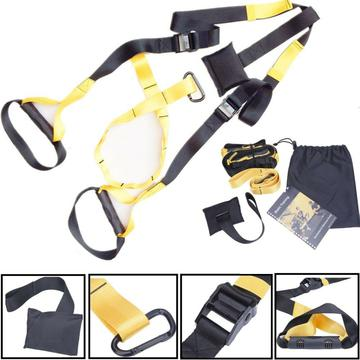 UPGRADED Home Gym Suspension Resistance Strength Training Straps Workout Trainer $31.37 SHIP FREE