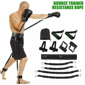 Boxing Thai Gym Strength Training Equipment Sports Fitness Resistance Bands Set ✅ US Stock ✅ FAST FREE 2-Day Shipping $29.99