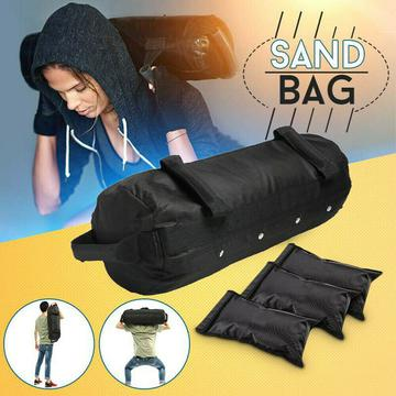 60lb Fitness Weighted Bag Gym Home Sandbag Workout Strength Training Weights $26,88