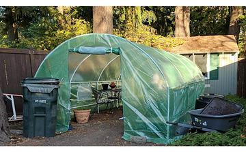 Quictent 20'x10'x7' 2 Doors Portable Greenhouse Large Green Garden Hot House Heavy Duty Outdoor Hot Plant Walk In Green House US $199.98