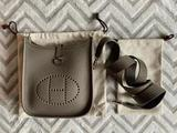 Authentic HERMES Evelyne TPM 16 Bag Etain, 2020 New In box, Stamp: Y US $2,499.00 $112 for 24 months with PayPal Credit*
