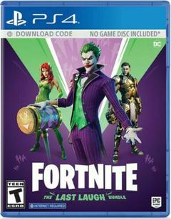 FORTNITE THE LAST LAUGH BUNDLE Playstation 4 PS4 Brand New Sealed | Prices: Buy 1 $33.98/ea, Buy 2 $33.30/ea