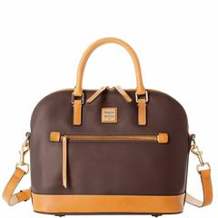 Dooney & Bourke Wexford Leather Domed Zip Satchel discounts available view here $104.30