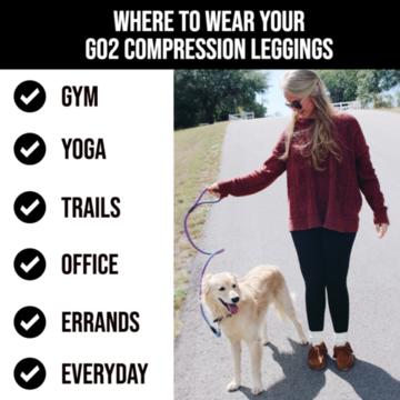 Womens Compression Leggings Black Tummy Control High Waist Pocket Anti-Cellulite CELLULITE MINIMIZER SLIMMING!  Online eBay checkout