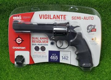 Crosman Vigilante BB and .177 Caliber Pellet Revolver Air Pitstol Gun - CCP8B2