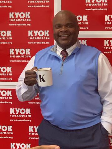 KYOK welcomes Coffee w/Keith to our weekend programming lineup: Saturdays 12-1pm