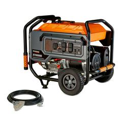 Generac 6433 - XT8000E 8,000 Watt Electric Start Portable Generator, 49 ST/CSA With 20ft. Extension Cord - Not for Sale in California $899.99