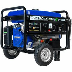 DuroMax XP4400EH 4,400-Watt Electric Start Dual Fuel Hybrid Portable Generator Buy Now at Lowest Price! Limited Time Event - Ends Soon $549.99