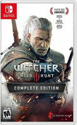 The Witcher III, 3 : Wild Hunt Complete Edition / Nintendo Switch / US Version.